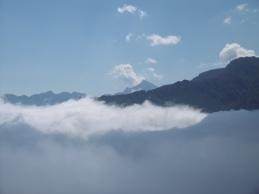 Mont Valier du col de l'Arrech